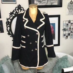 Jackets & Blazers - Military pirate Halloween dress coat sz L